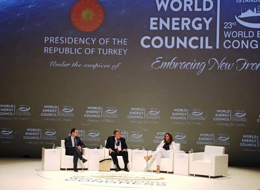 Presidenta de la CBHE asume vicepresidencia del Consejo Mundial de Energía