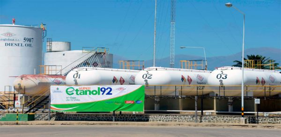 El Gobierno e YPFB alientan la reactivación del programa de biocombustibles (ETANOL)