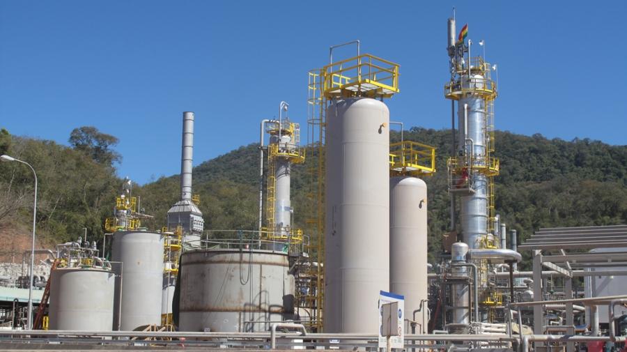 Ingresos por venta del gas caen un 47%
