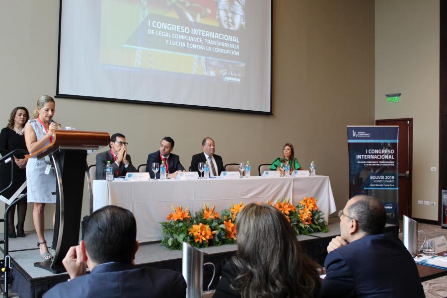 EXITOSO PRIMER CONGRESO DE COMPLIANCE EN BOLIVIA