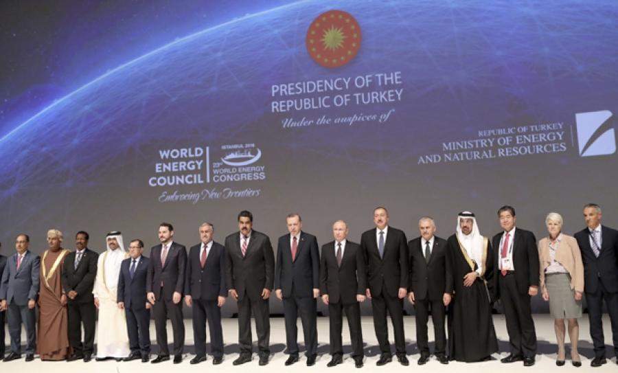 Arranca el XXIII Congreso Mundial de Energía en Turquía